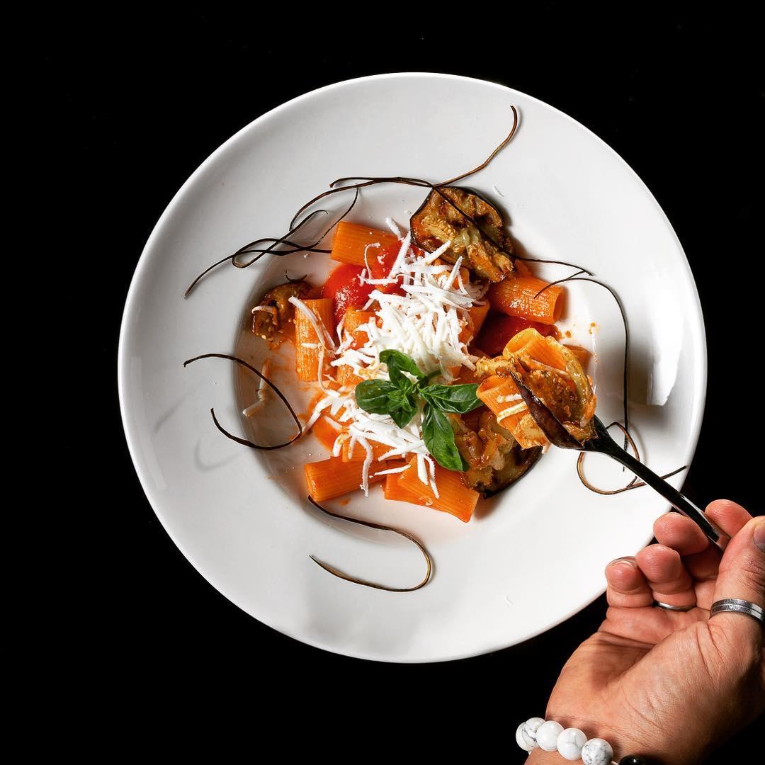 pasta Norma Adella ristorante by Gabriele Federici