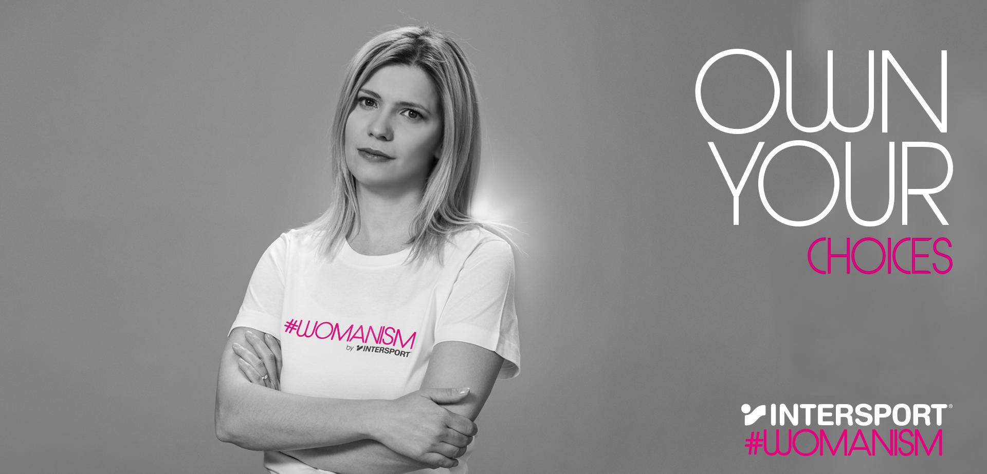 intersport #womanism Geri Turiyska